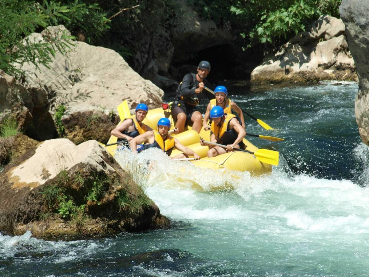 Rafting auf Cetina 1