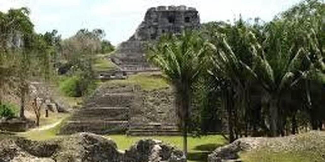 Xunantunich is an Ancient Maya archaeological site in western Belize, about 80 miles west of Belize City, in the Cayo District