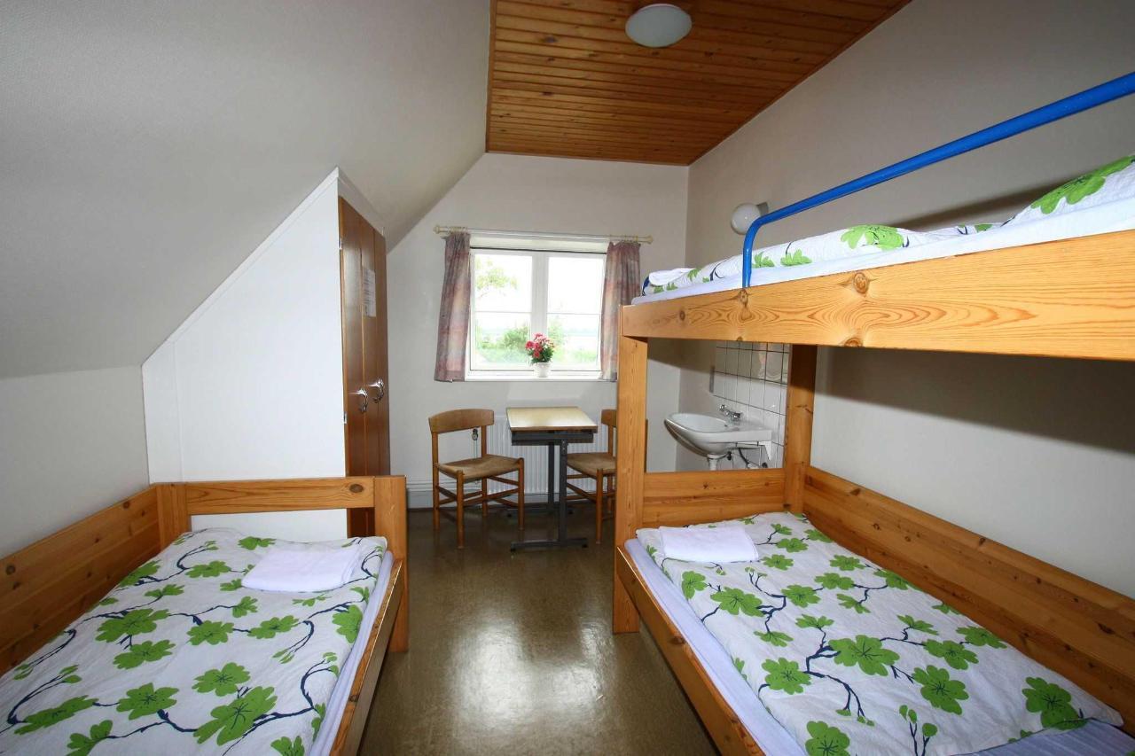 familieværelse 2-3 pers. på 1.sal m/ udsigt til Rudbøl sø