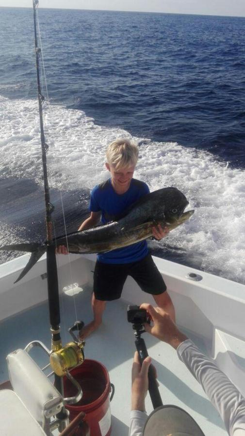 Happy Clients - Fishing Costa Rica