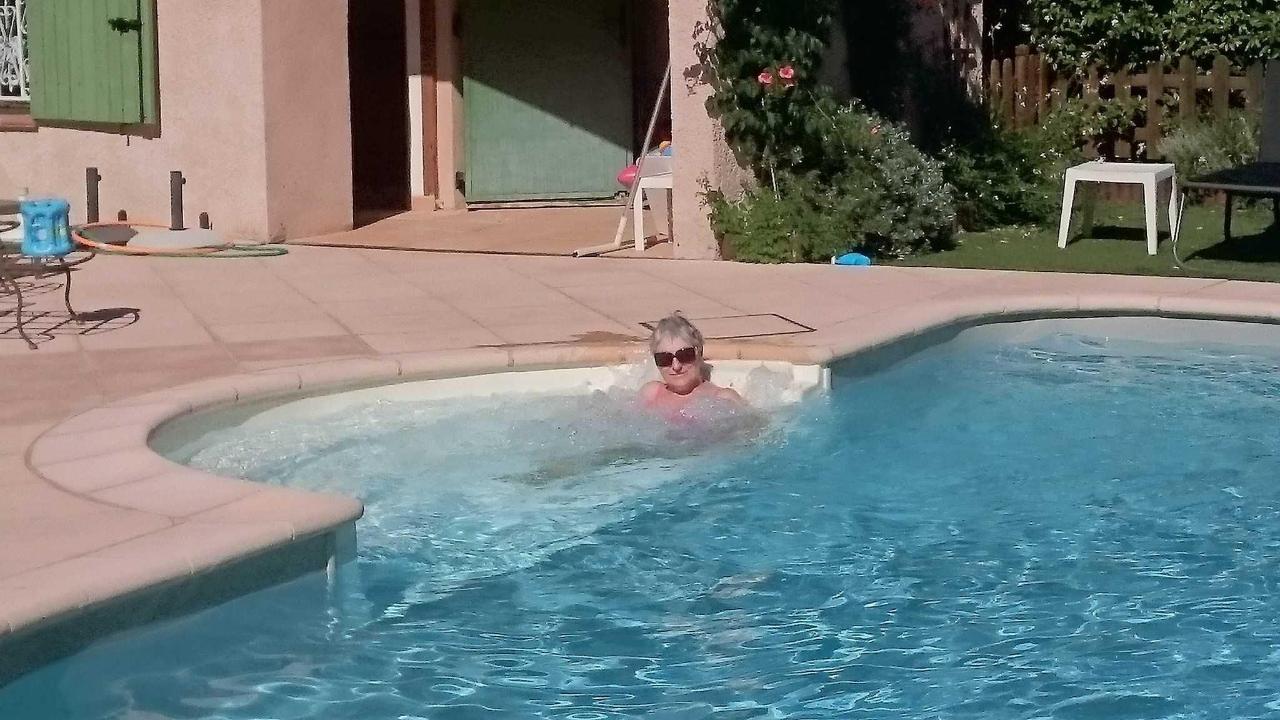 Villa Victoria Aix en Provence, piscine avec lit balnéo intégré