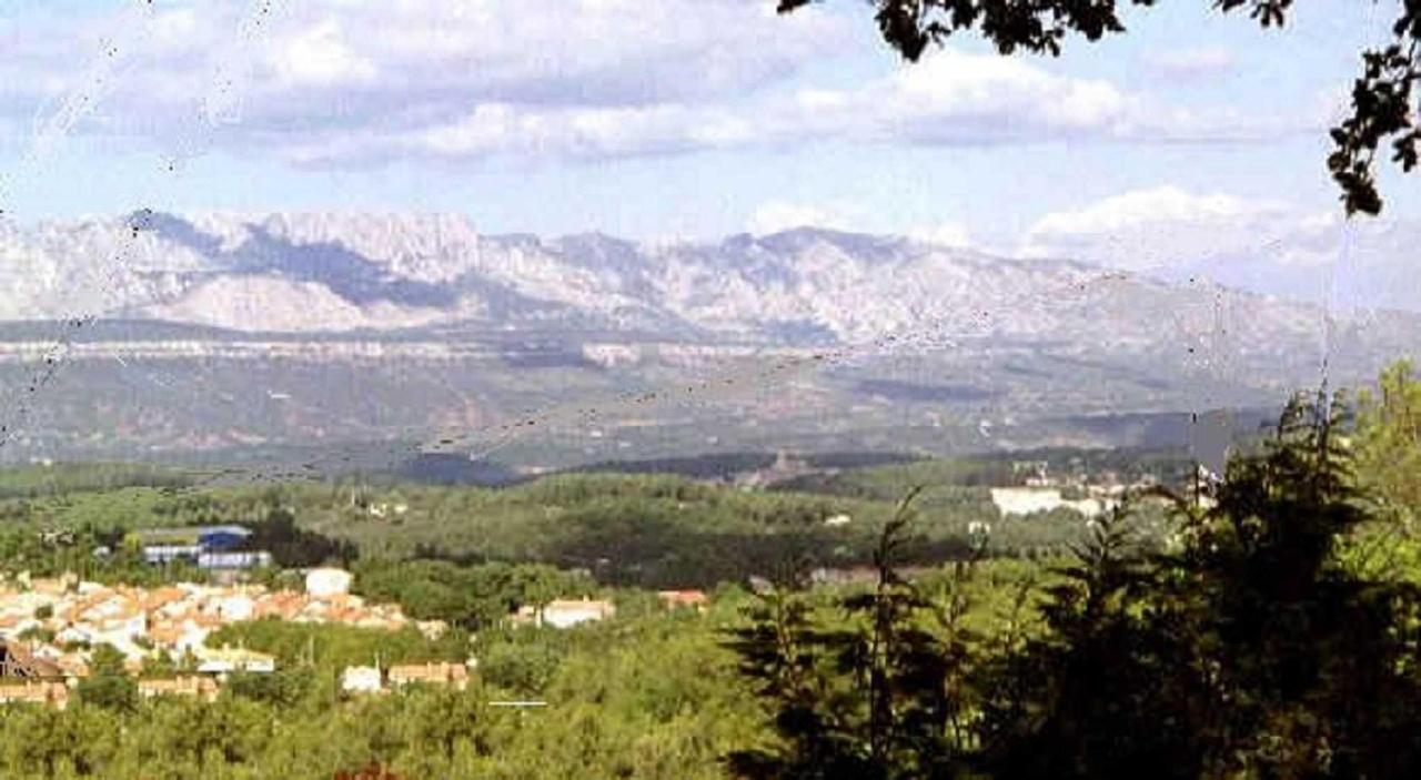 Village de Gréasque, vue Sainte Victoire