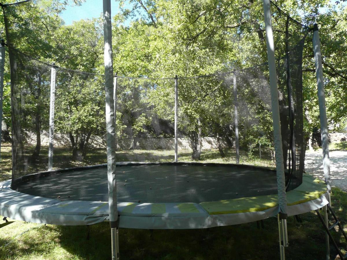 Trampoline of Villa Victoria Aix en Provence
