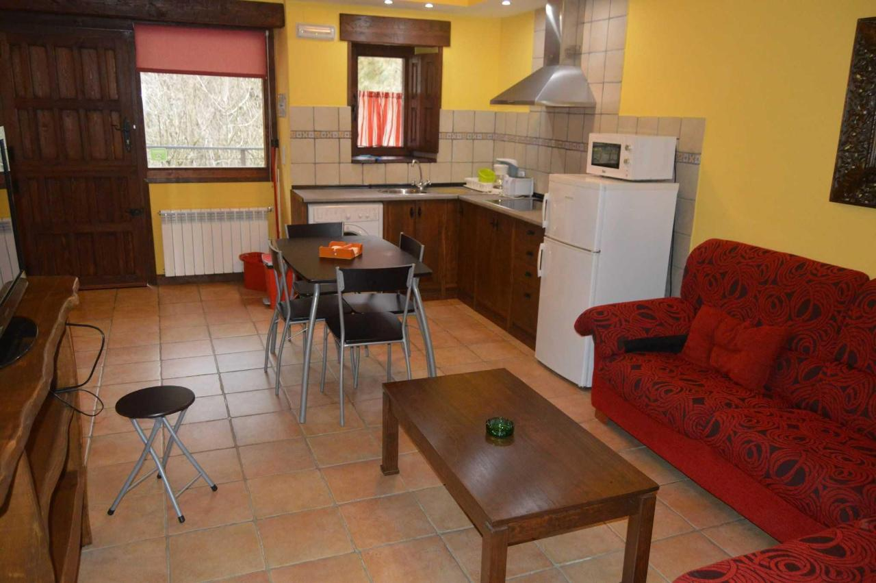 apartamento cocina para familais y grupos en los valles pasiegos de cantabria.JPG
