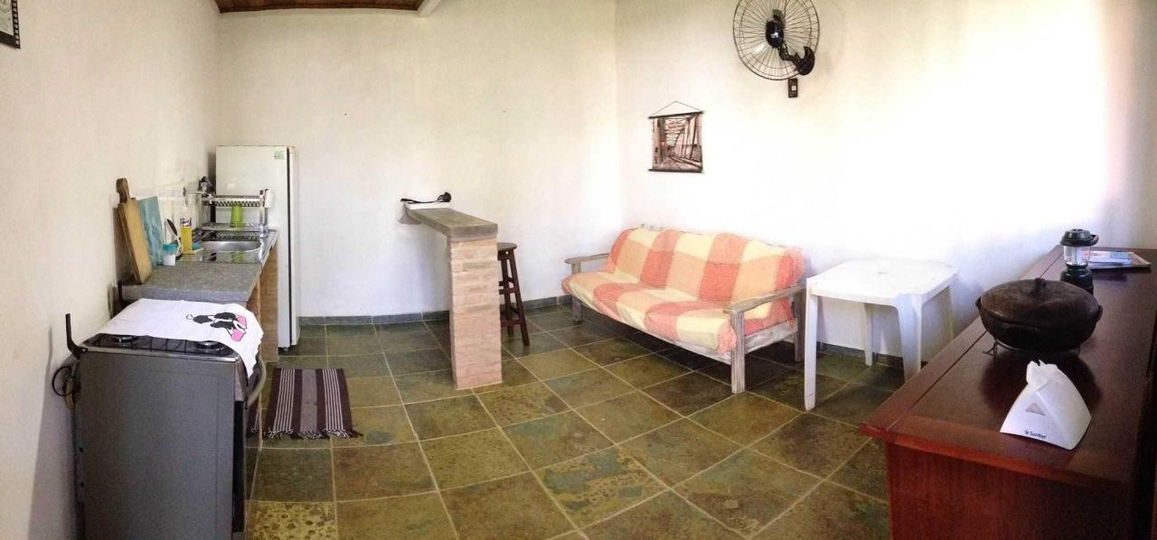 Chalé - cozinha montada