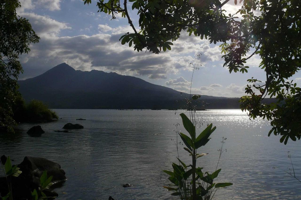 Mombacho volcano-view-from-Zopango-island