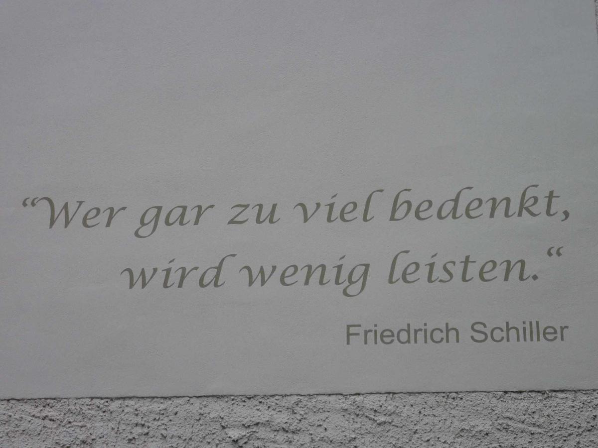Spruch Friedrich Schiller