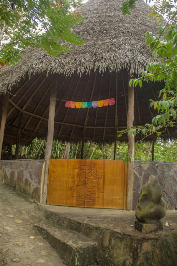 Our maloca (ceremonial hut.).JPG