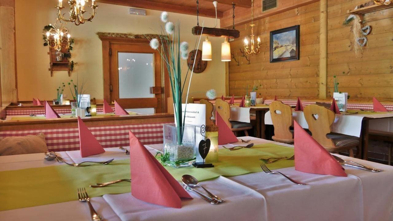 Stube/Restaurant Pillerseehof