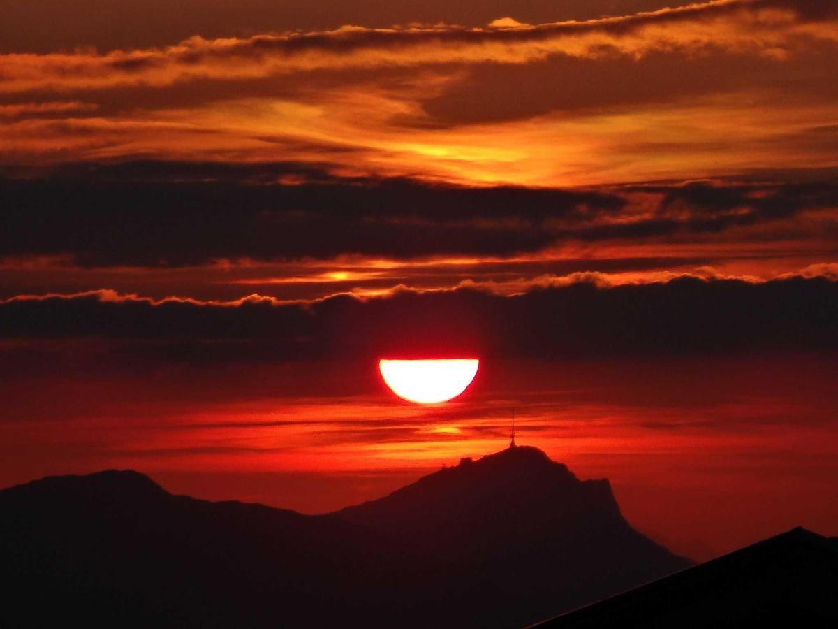 solnedgang KitzbühlerHorn