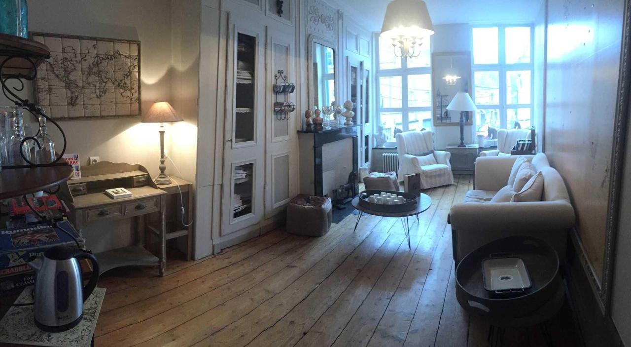 Le petit salon à l'étage
