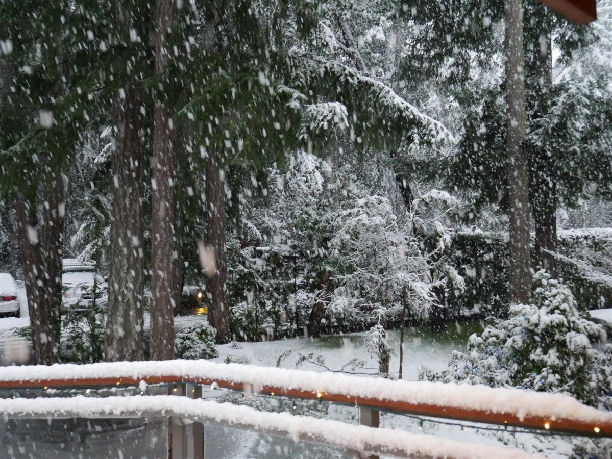 Tigh-Na-Mara Oceanview Resort Winter Snow