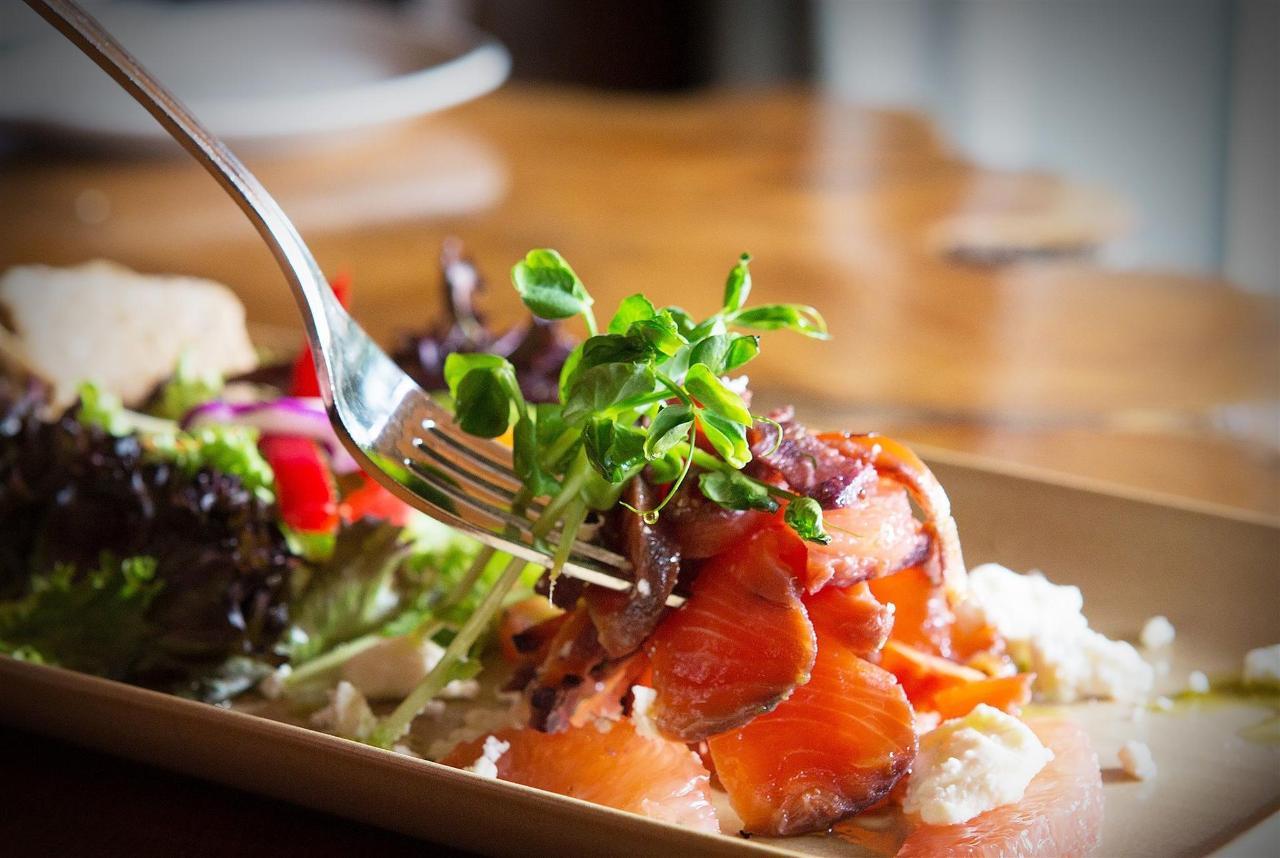 Tigh-Na-Mara Cedars Restaurantblueberry-cured-salmon