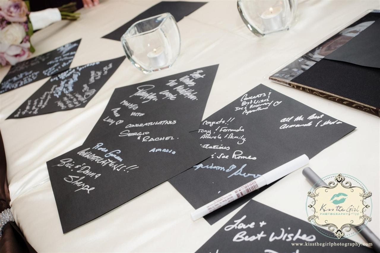 Special notes for bride and groom
