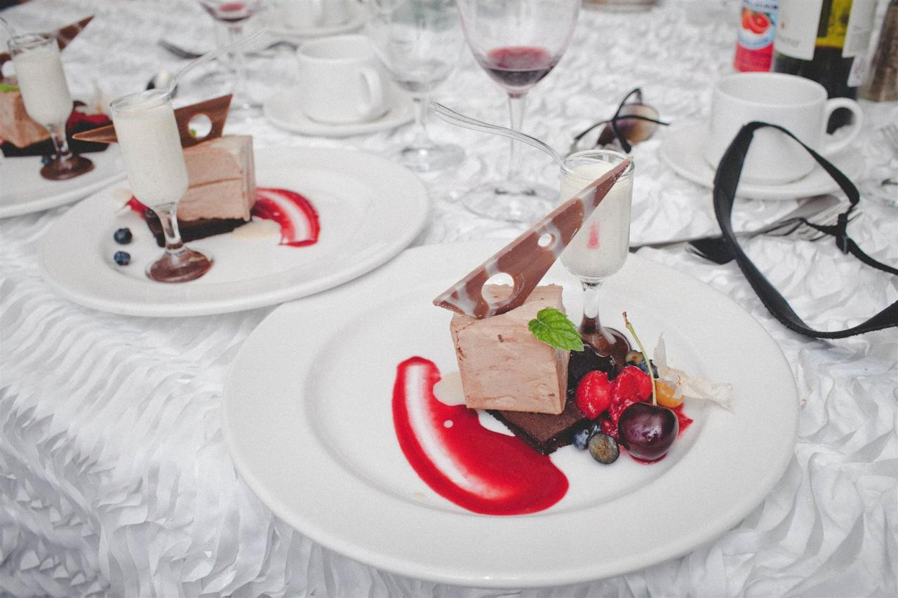 Event catering - desserts