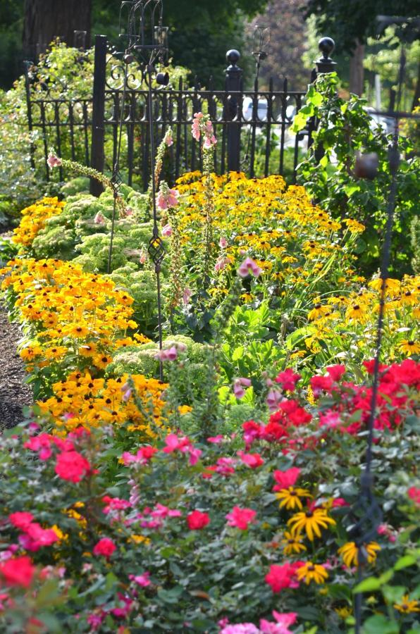 Union Gables Inn Saratoga Springs NY summer perennial garden