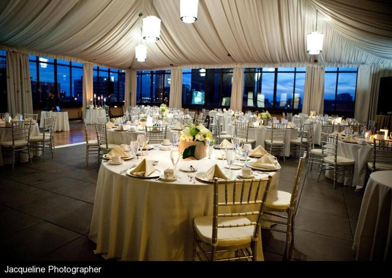 Terrace Ballroom Reception Setup