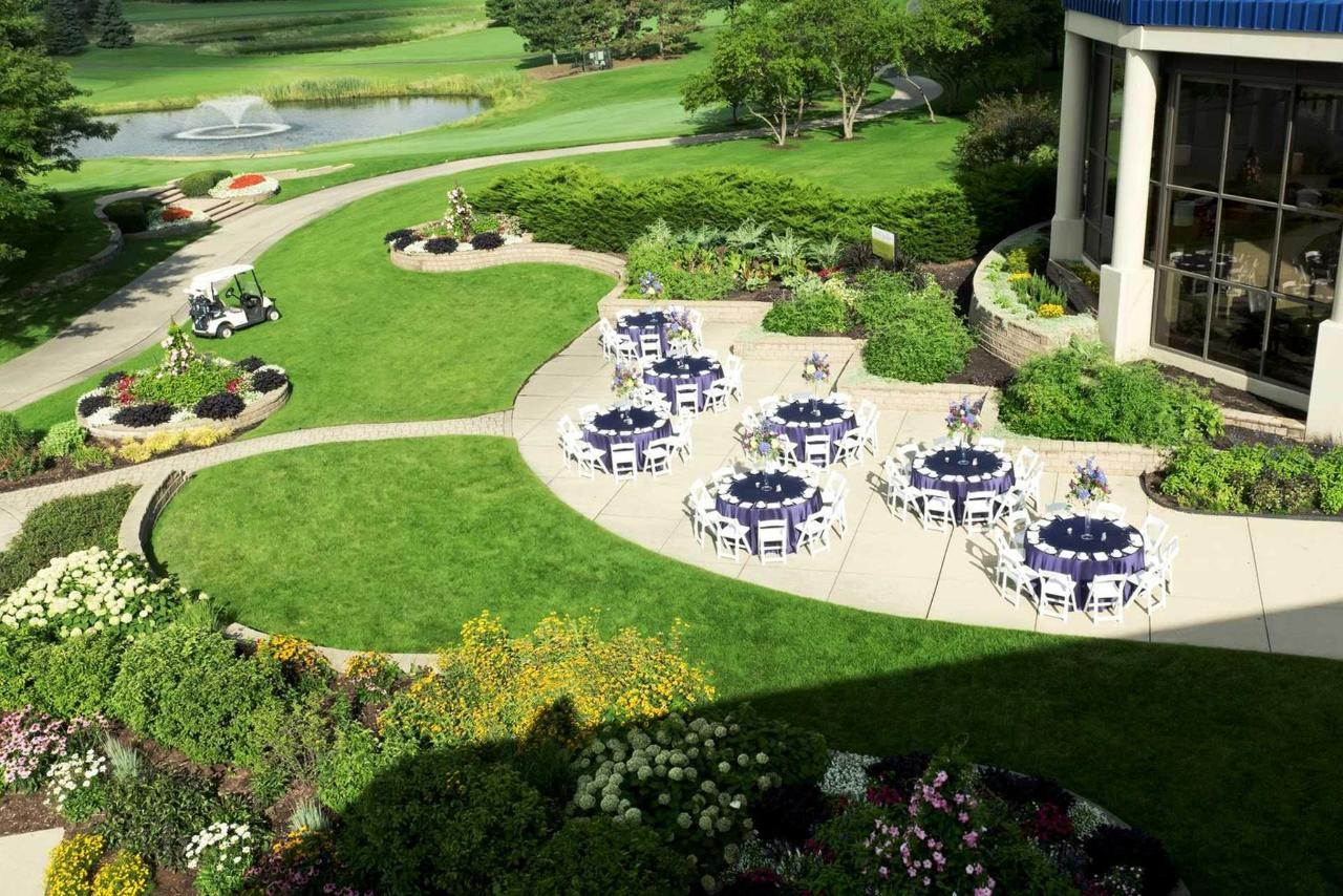 Garden Patio ideal for private events up to 300 people