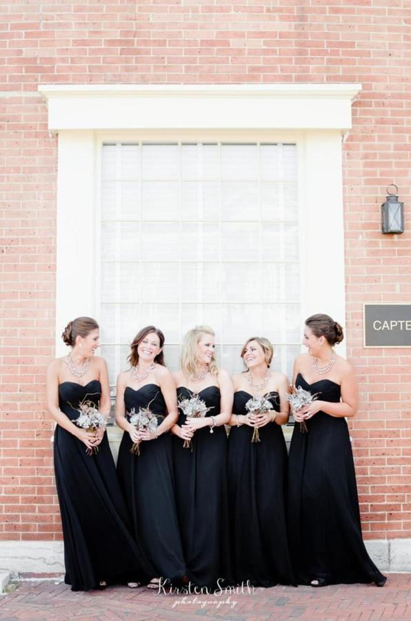 Admiral Fell Inn Bridesmaids in Fells Point Shot by Kirsten Smith Photography.jpg