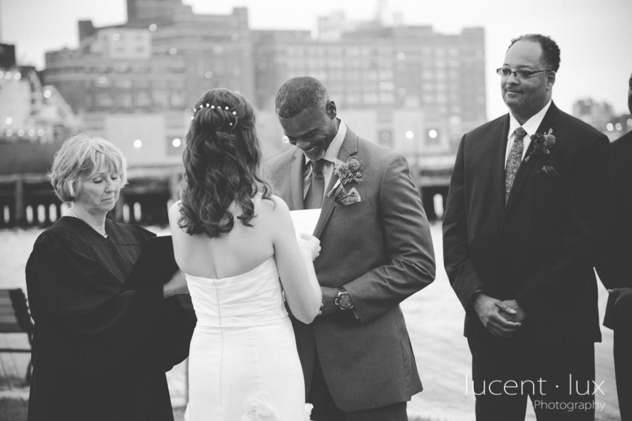 Admiral Fell Inn Black and White Bride and Groom Vows by Lucent Lux Photography.jpg