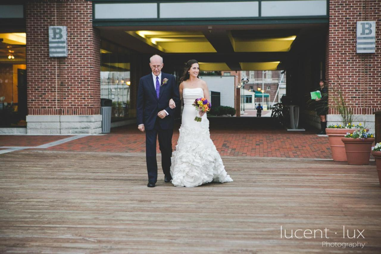 Admiral Fell Inn Bride Walking to Aisle Shot by Lucent Lux Photography.jpg