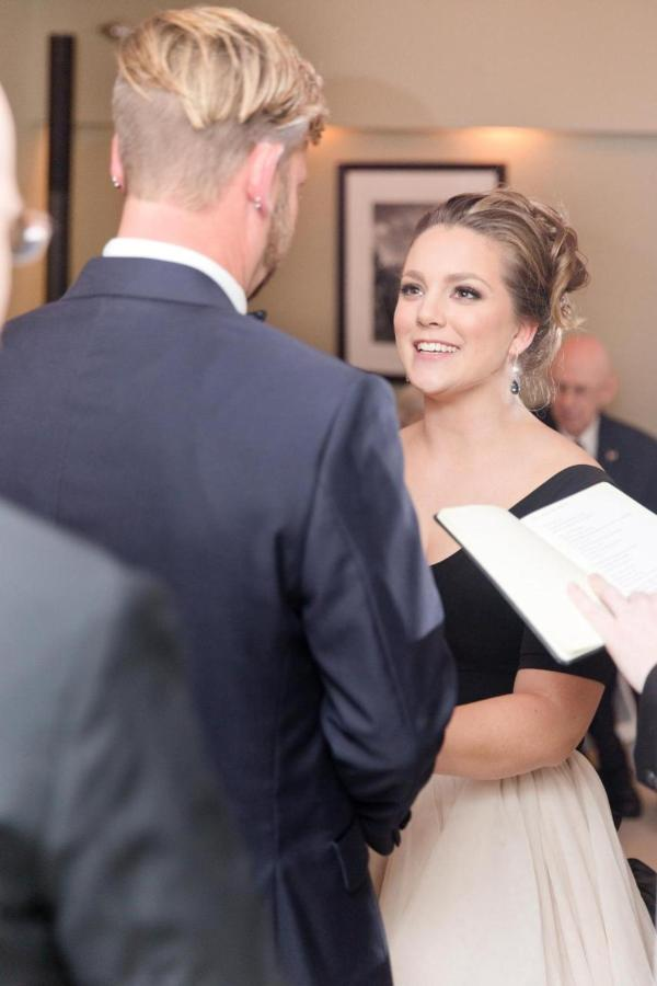 Admiral Fell Inn Bride and Groom Vows Shot by Amy and Jordan Photography.jpg