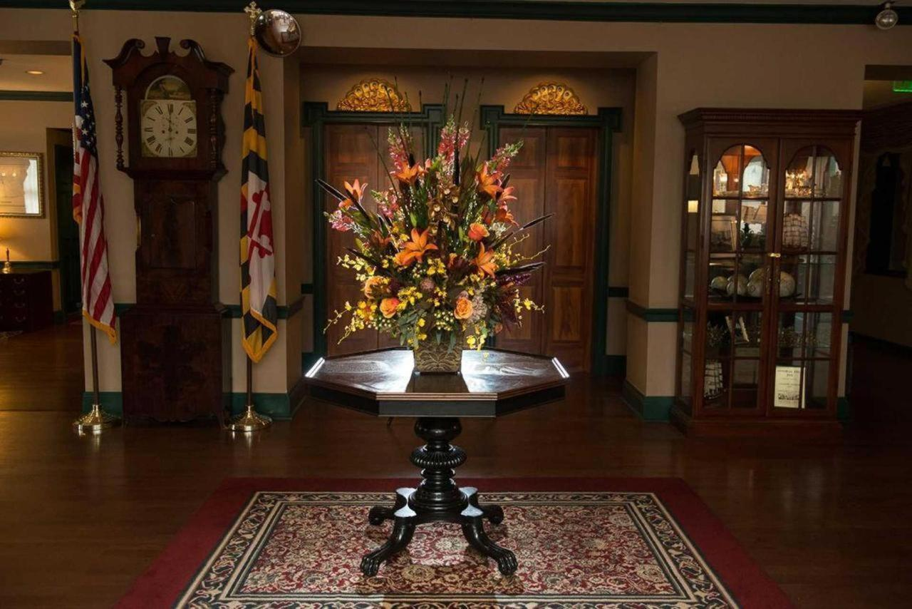 Admiral Fell Inn Lobby and Flowers and Fancies Floral Arrangement.jpg