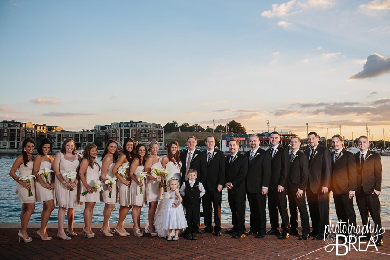 Pier 5 Hotel Bridal Party Wedding Shot by Photography by Brea.jpg