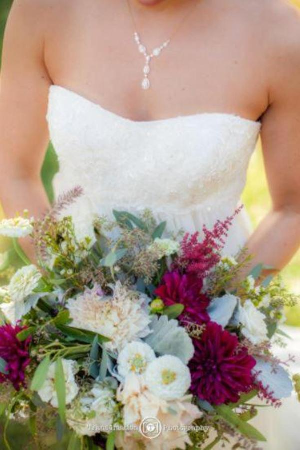 Pier 5 Hotel Bride Dress and Bouquet Wedding Shot by Trans4mation Photography.jpg