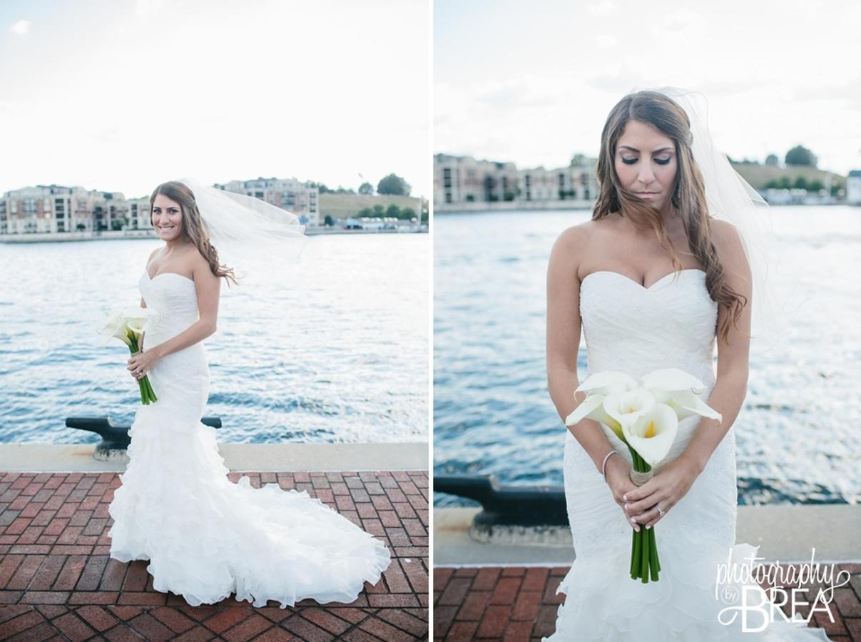 Pier 5 Hotel Bride Waterfront Wedding Captured by Photography by Brea.jpg