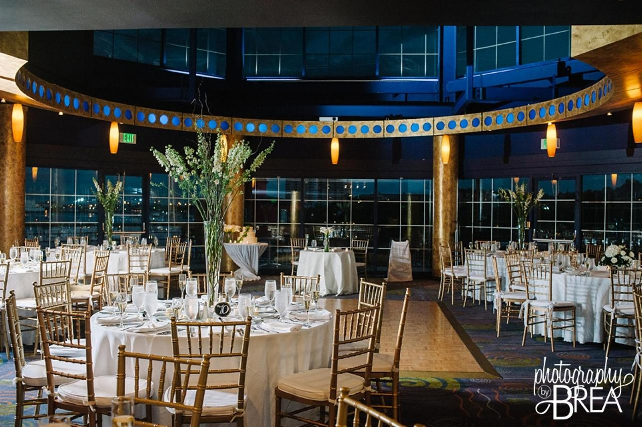 Pier 5 Hotel Wedding Setup Evening Captured by Photography by Brea.jpg