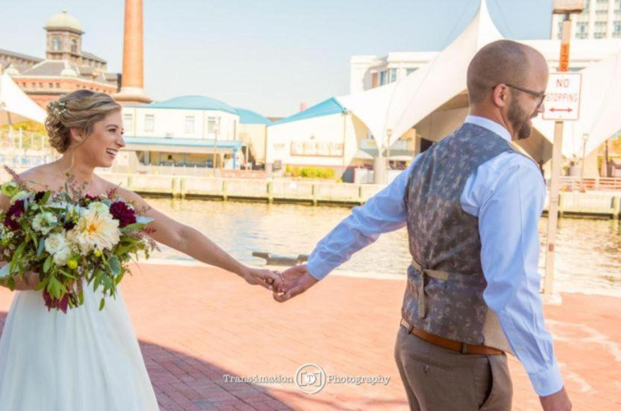 Pier 5 Hotel Bride and Groom Horizontal Wedding Shot by Trans4mation Photography.jpg