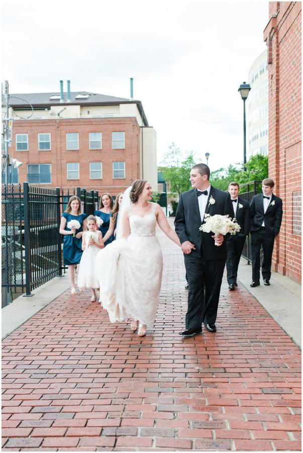 Henderson's Wharf Horizontal Bridal Party Photo Captured by Ashton Kelley Photography.jpg