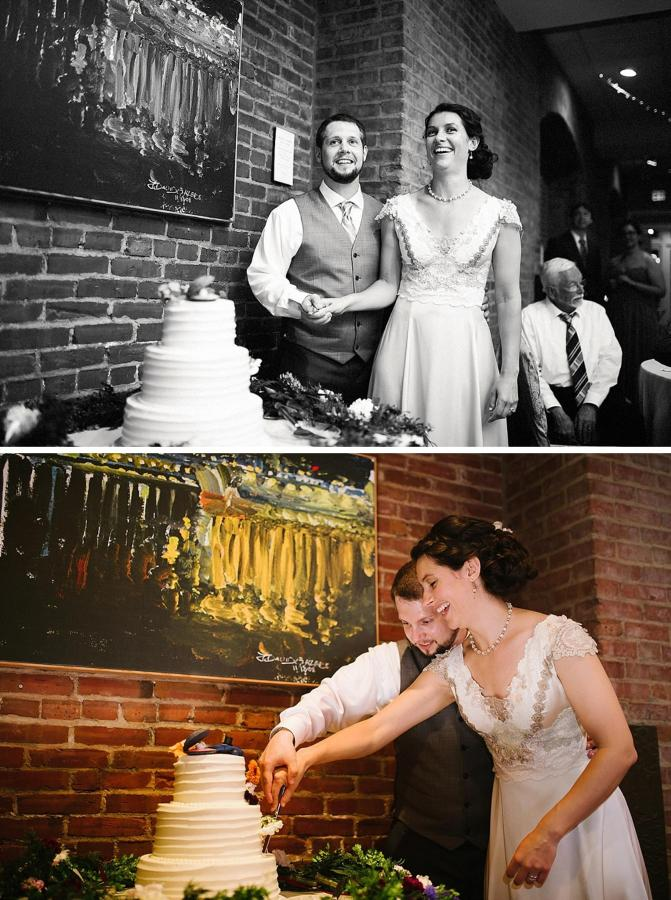 Henderson's Wharf Bride and Groom Cake Captured by Kirsten Marie Photography.jpg