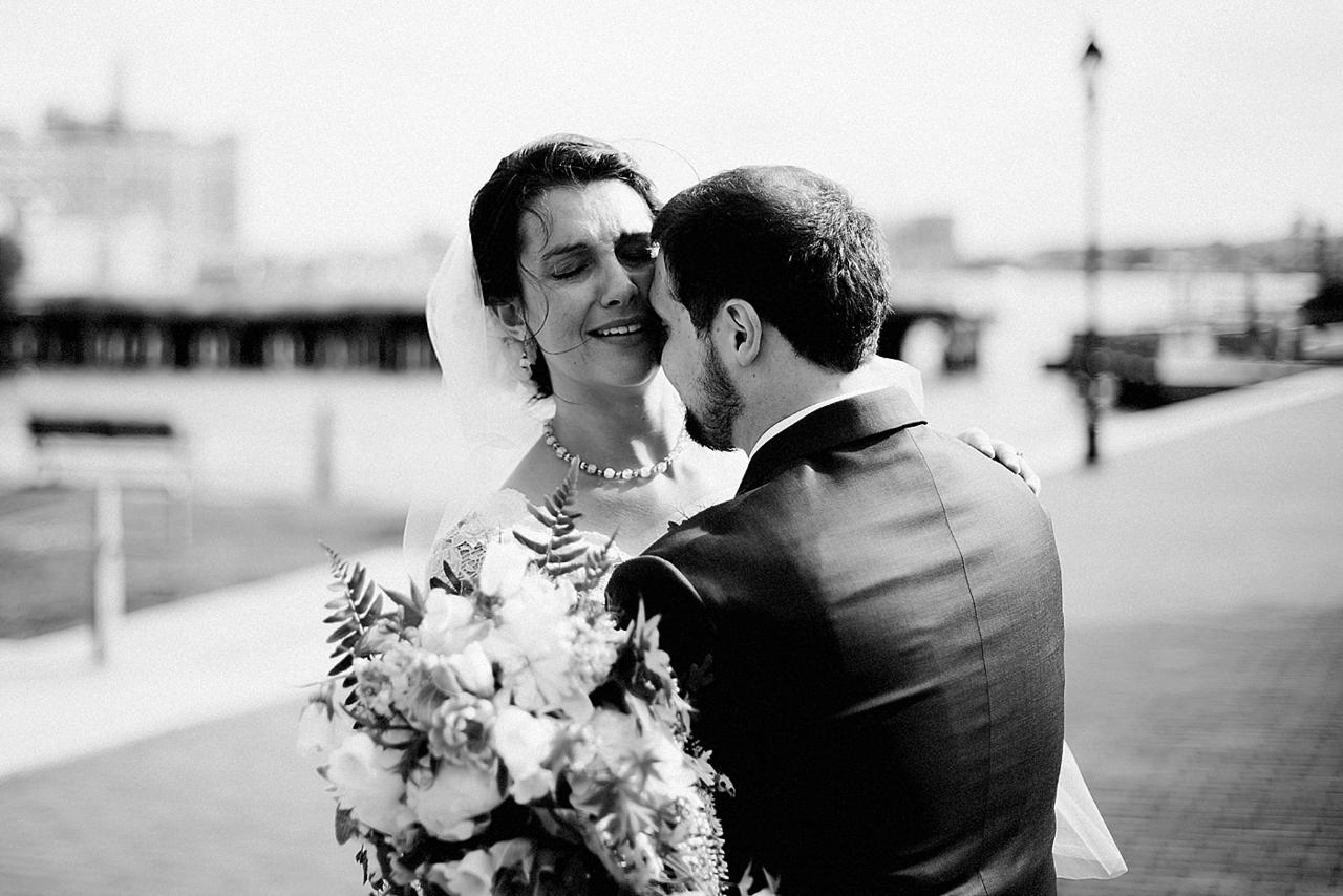 Henderson's Wharf Bride and Groom Photo Captured by Kirsten Marie Photography.jpg
