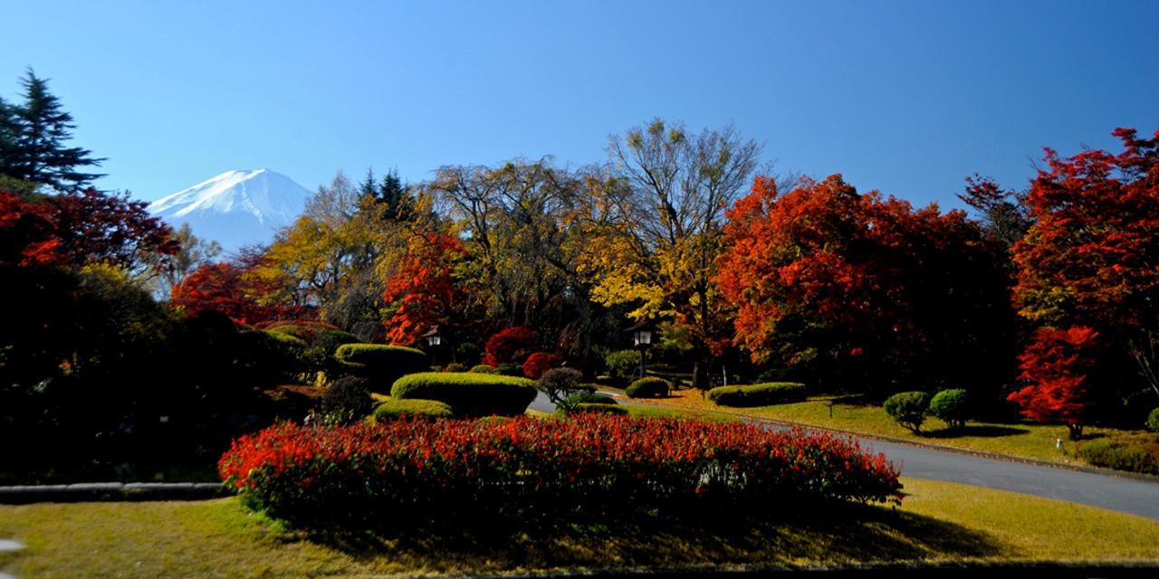 【Осень】 Вход в отель