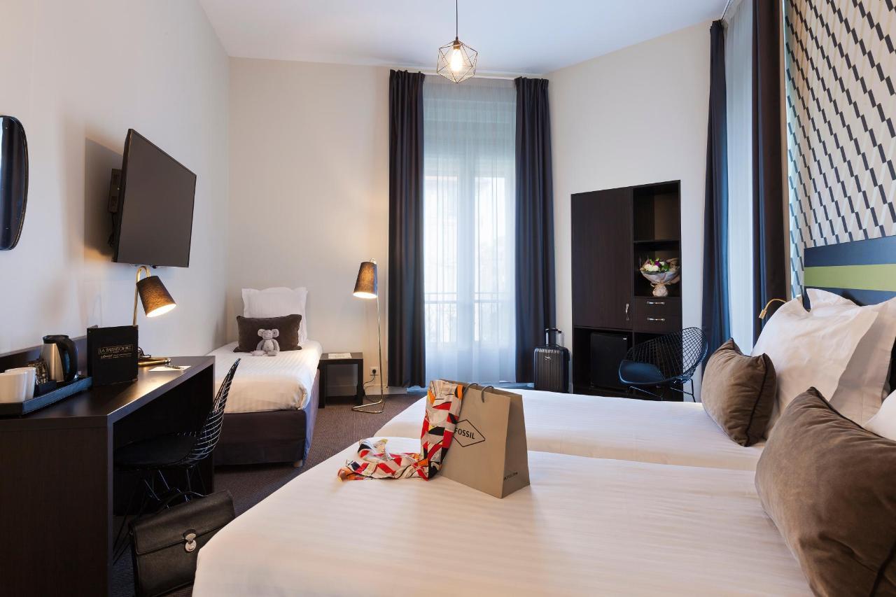 Chambre Triple Hotel La Malmaison Nice