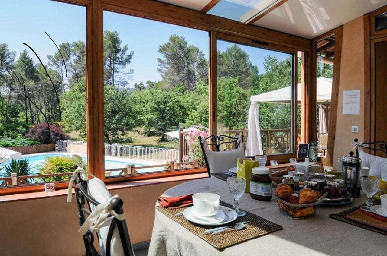 breakfast veranda of the guest rooms. Villa Victoria Aix en Provence