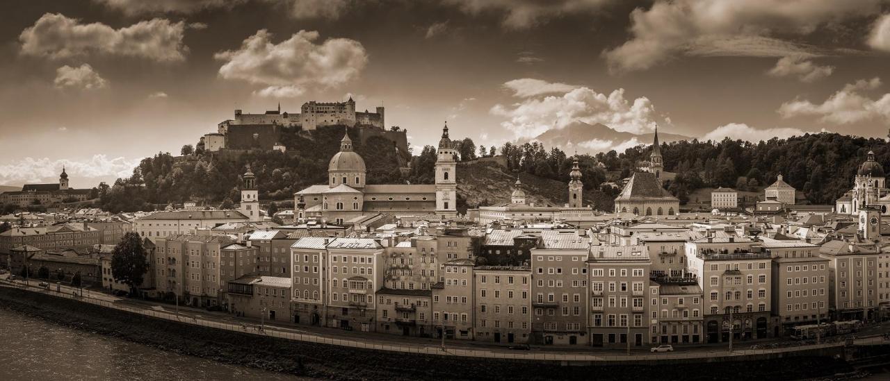 Salzburg - Stadt von