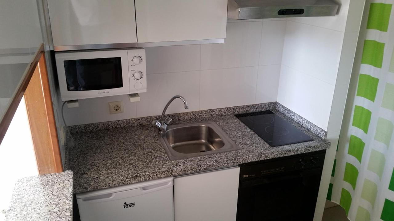 Keuken met een slaapkamer appartement Maria Victoria Benidorm