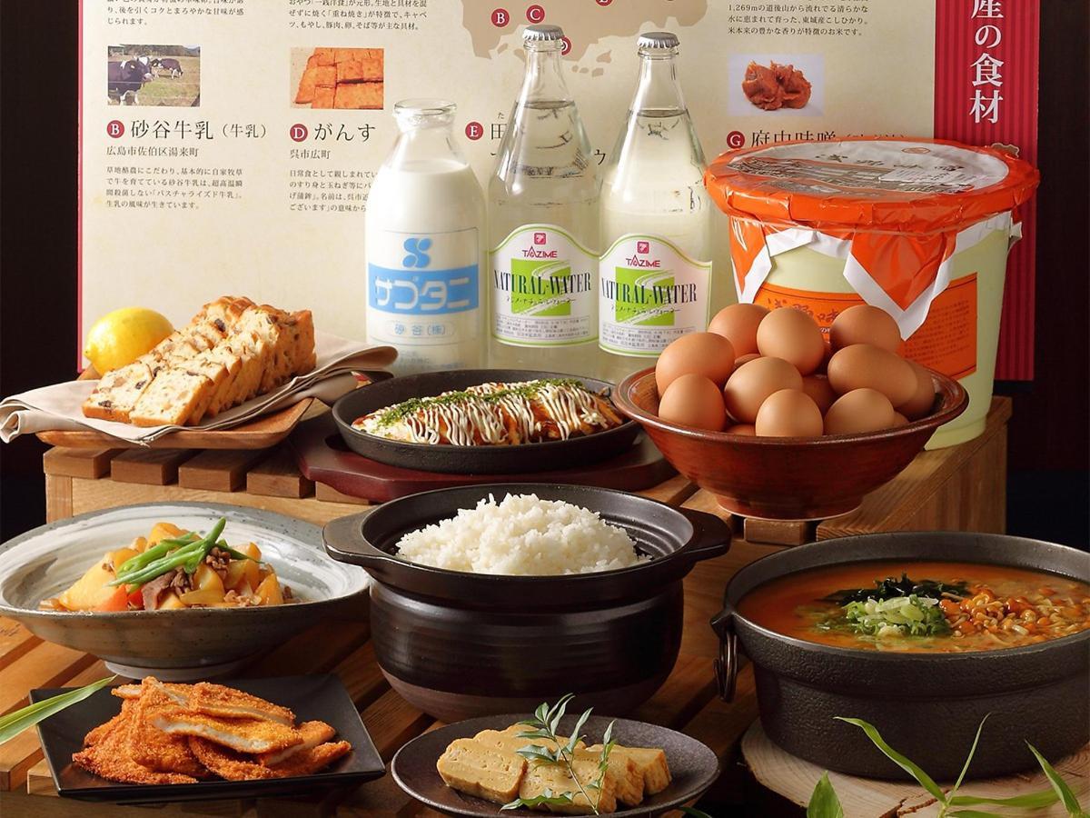 朝食ブッフェには広島の美味しいものもご用意しています。.jpg