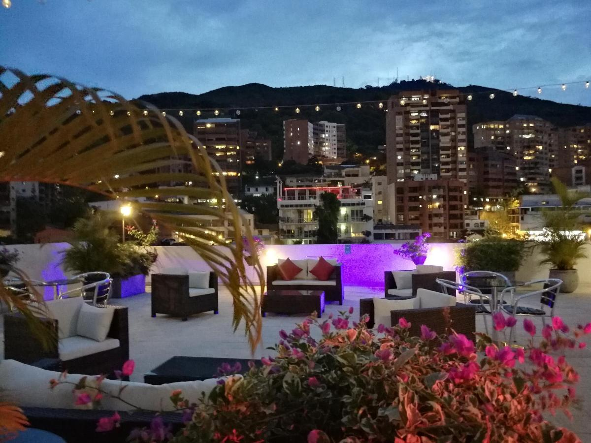 The Terrace of the Aqua Granada Hotel