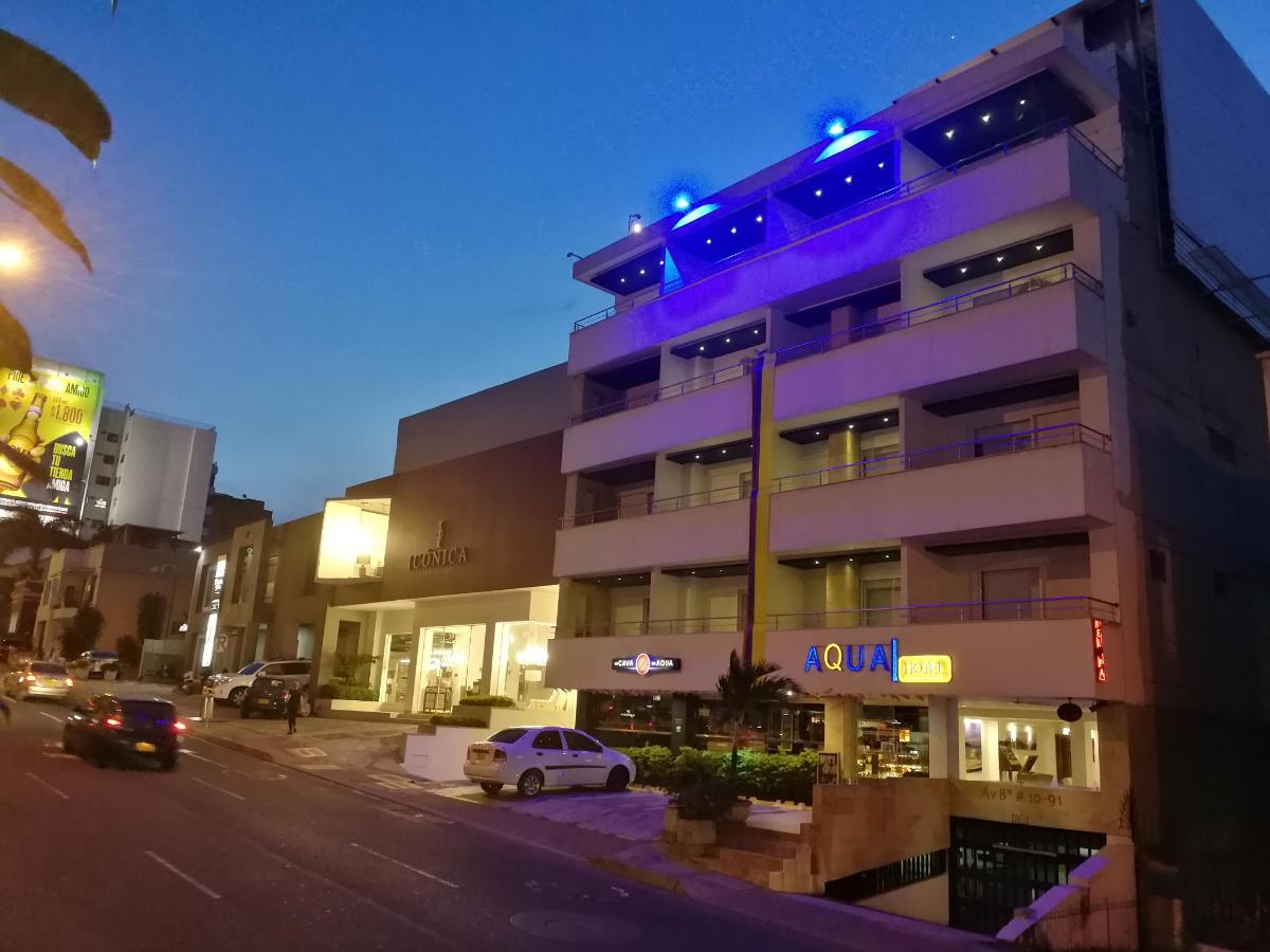 Fachada Aqua Granada Hotel Avenida 8N