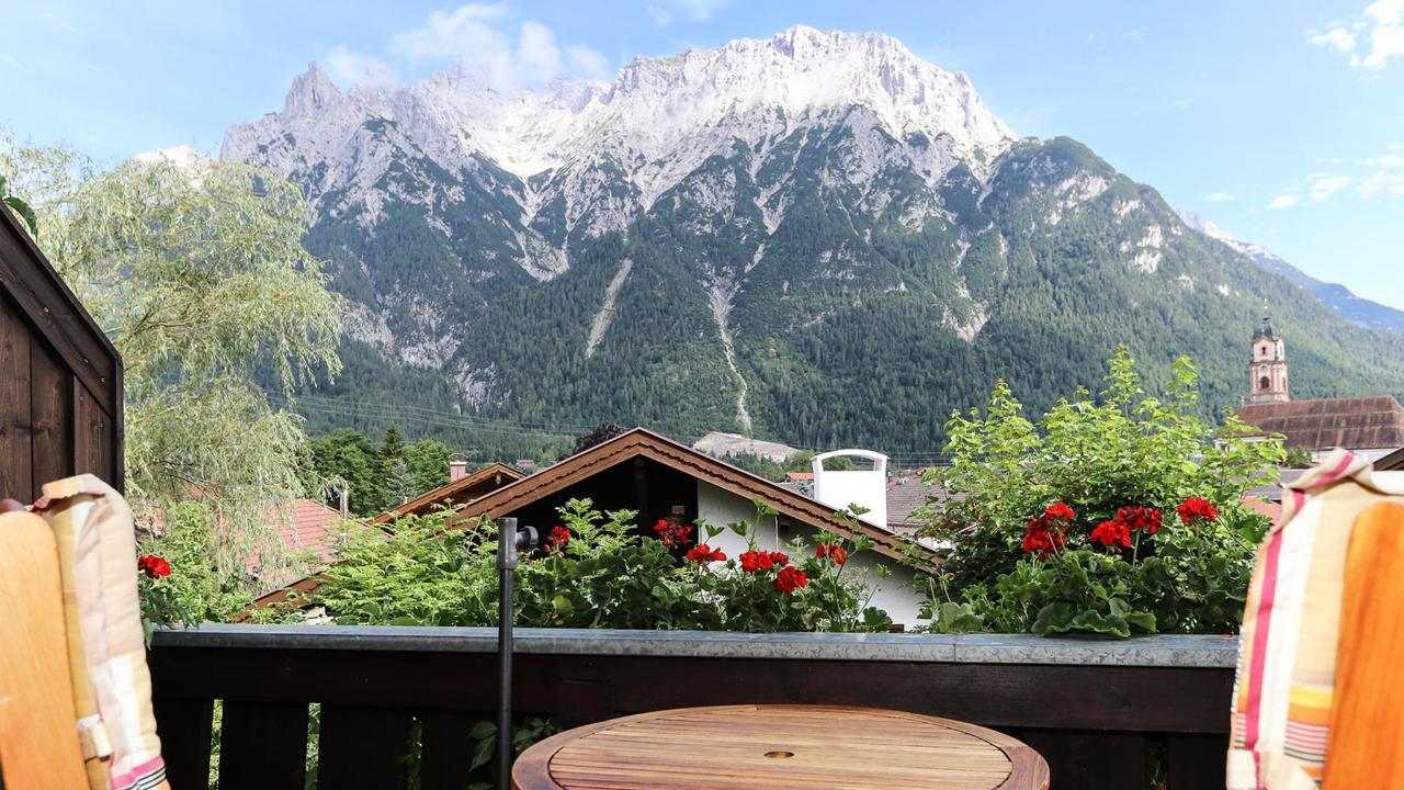 Ferienwohnung 02 - Balkon mit Panoramablick