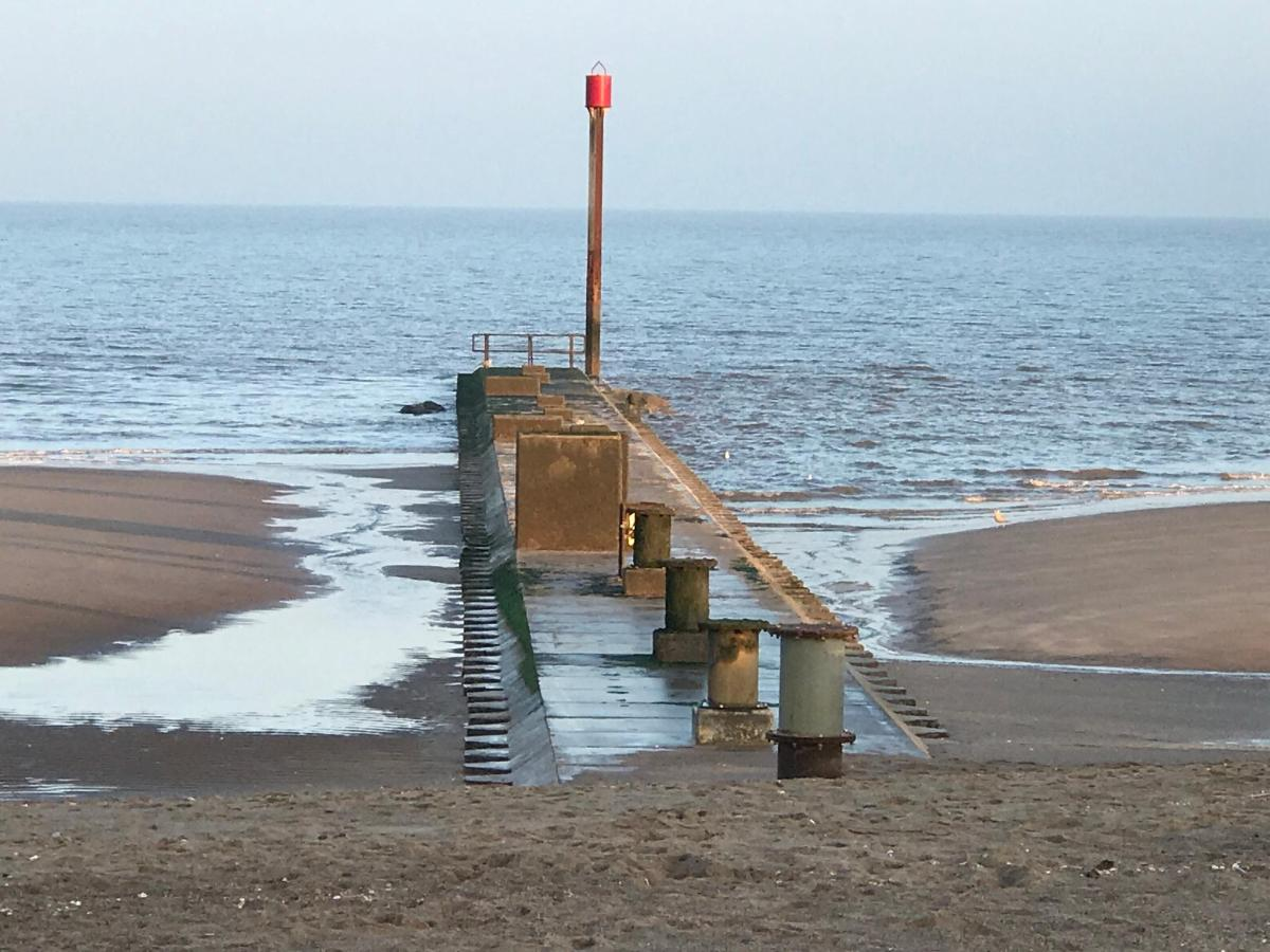 Outfall Mablethorpe Beach