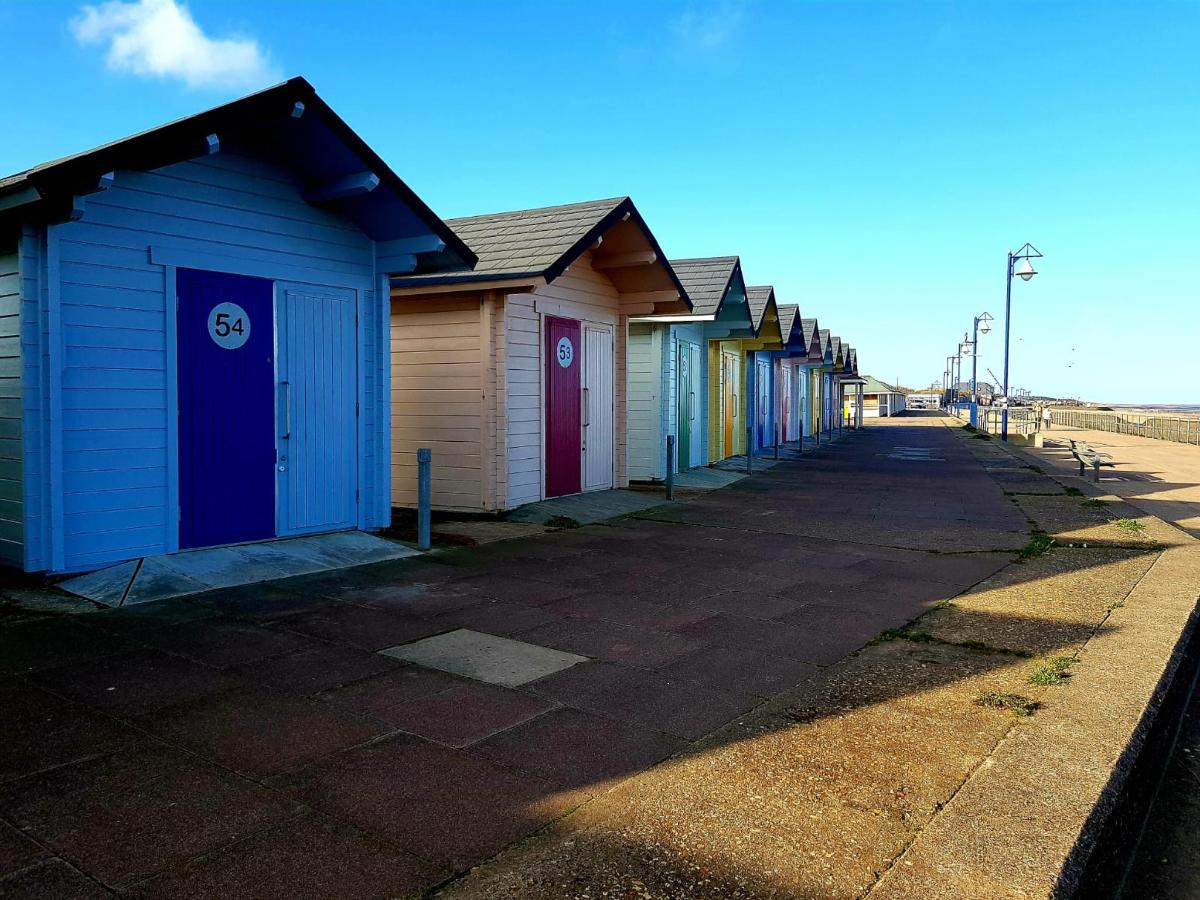 Beach Huts on Mablethorpe Beach