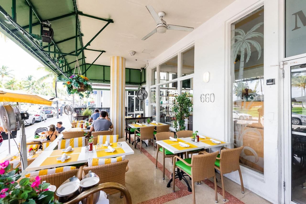 Dining On Ocean 7 Cafe at Majestic Hotel South Beach.jpg