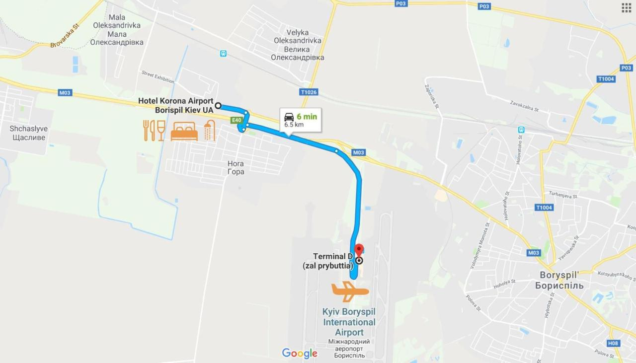 Hotel Korona Boryspil Airport