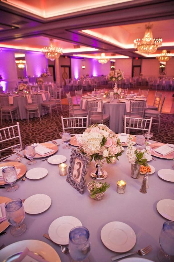 Pink Wedding Crystal Ballroom