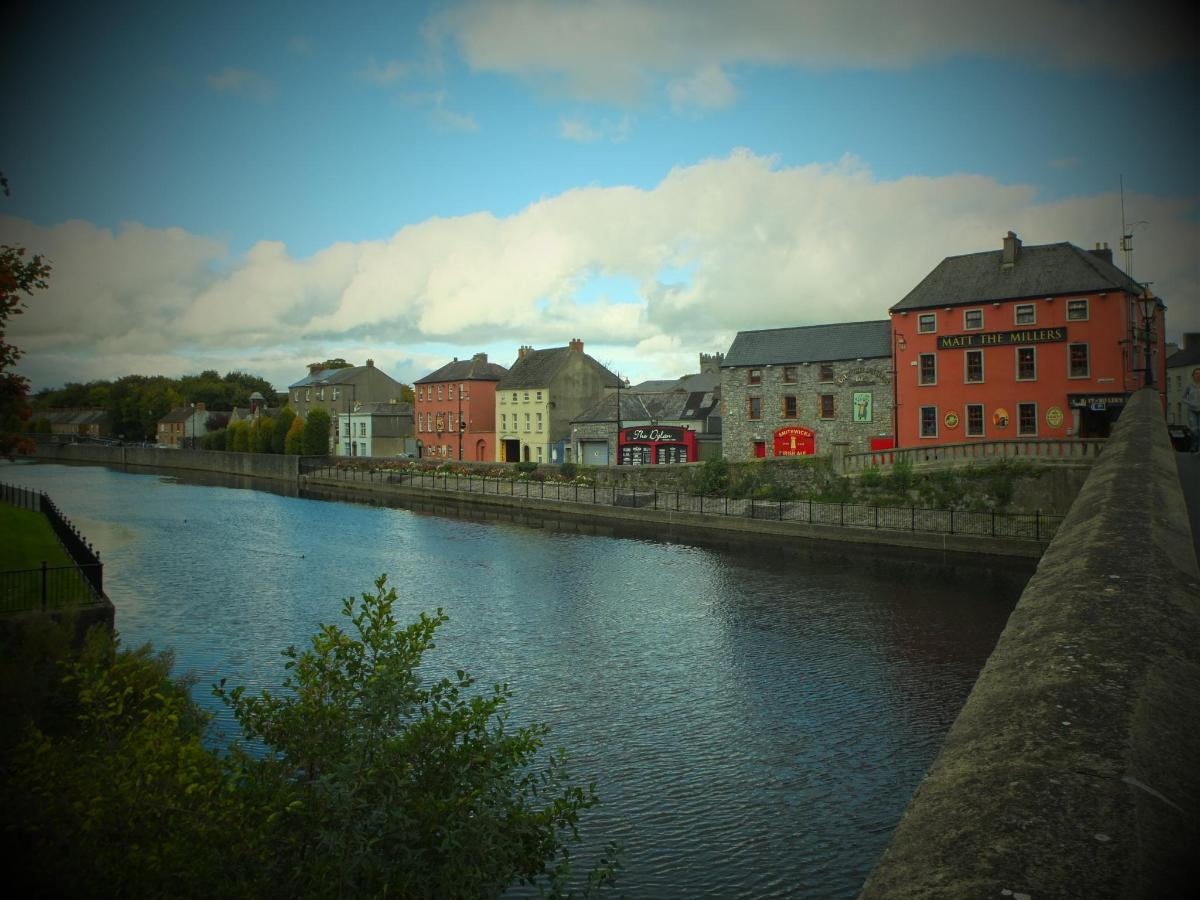 The view from John's Bridge in Kilkenny